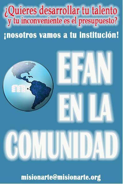 EFAN EN LA COMUNIDAD