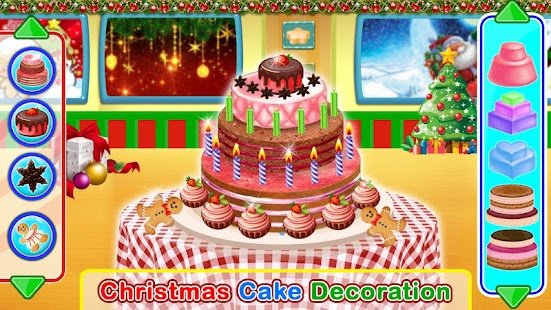 Christmas Holiday Activities - DressUp, Tree, Cake - náhled
