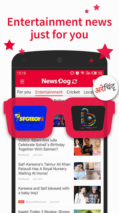 NewsDog Lite - India News- screenshot
