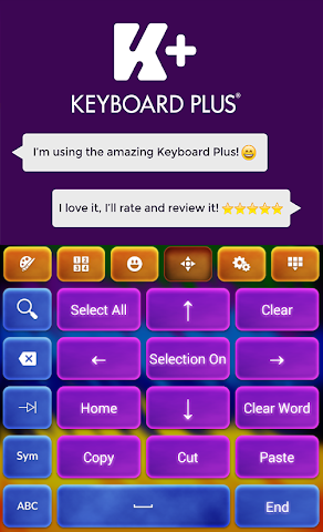 android Crazy Colors Keyboard Screenshot 6