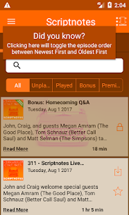 Scriptnotes- screenshot thumbnail
