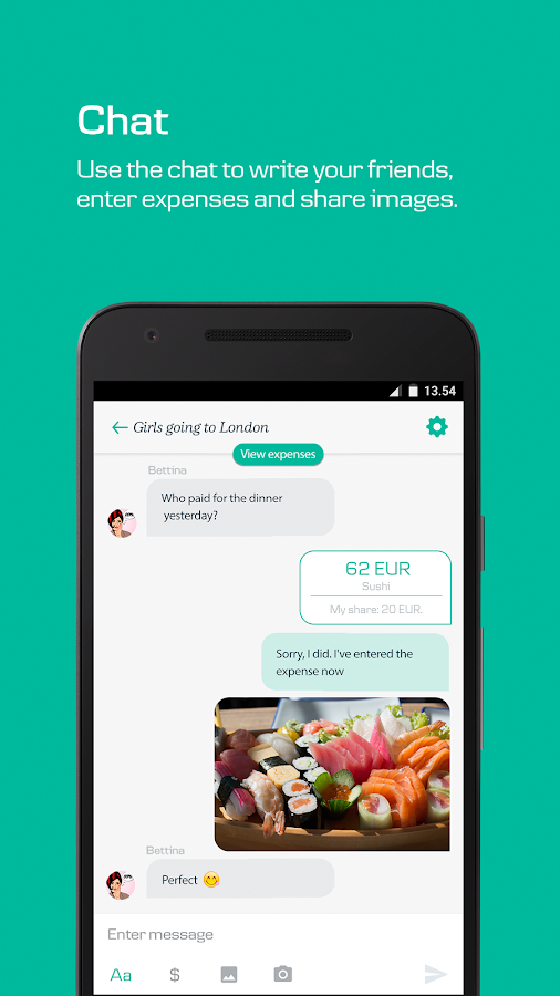 WeShare by MobilePay- screenshot