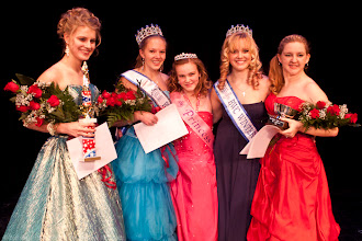 Photo: From left, Jenna Martin, first runner up, Alison Cornellier, 2013 Carnival Queen, 2012 Carnival Princess ?, 2012 Carnival Queen runner up Lyndsey Winchester and secont runner up Brianna Snow.(Zachary P. Stephens/Brattleboro Reformer0