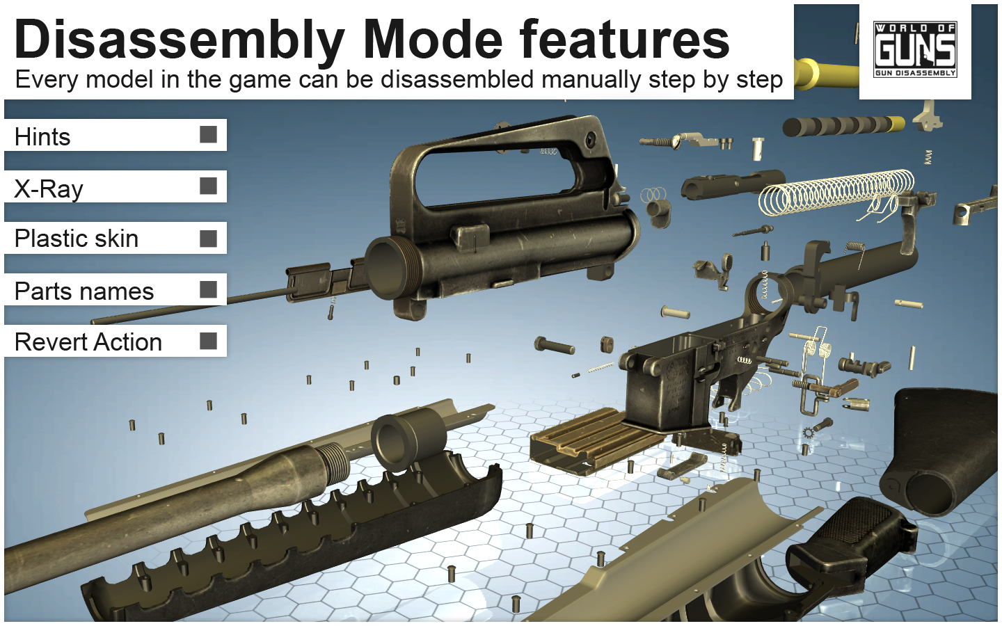 World of Guns: Gun Disassembly- screenshot