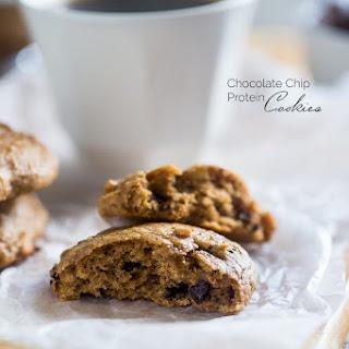 Gluten Free Chocolate Chip Cookies {High Protein}