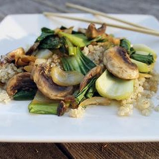 Chicken Stir-Fry with Bok Choy and Garlic Sauce Recipe
