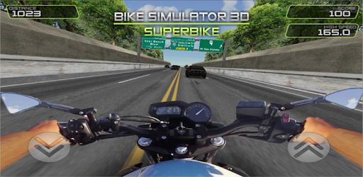 Bike Simulator 3D - SuperMoto is the best moto traffic ride simulator game !!!