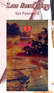 Love Secret Diary - With Lock Password for PC-Windows 7,8,10 and Mac apk screenshot 2