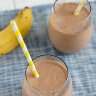 Banana Nutella Milkshake.
