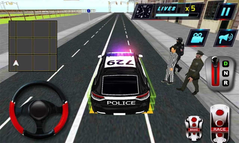 Скриншот Полиция города Криминал