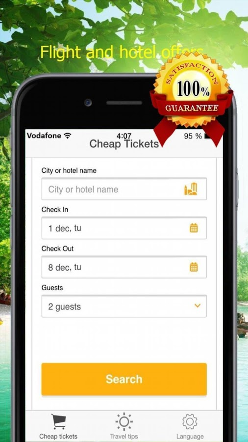 Airline Tickets Cheap- screenshot