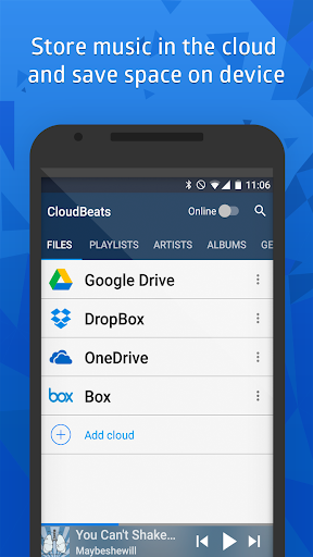 Download CloudBeats - offline & cloud music player on PC & Mac with