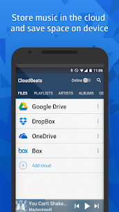 CloudBeats – offline & cloud music player 2