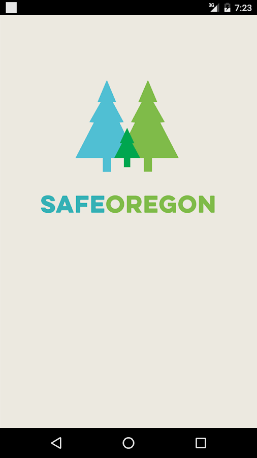 SafeOregon- screenshot