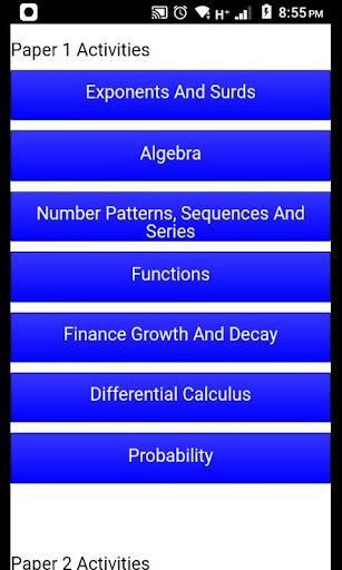 Grade 12 Mathematics Mobile Application Apk 2