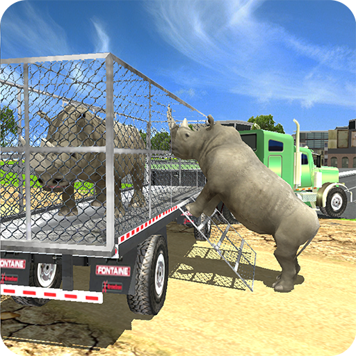 Zoo Animal Transport Simulator 動作 App LOGO-硬是要APP