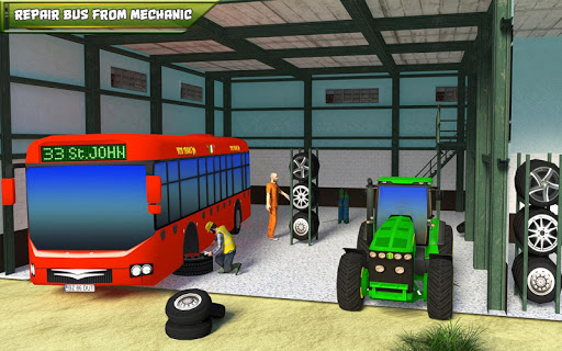 Tow Tractor Games 2018: Rescue Bus Pulling Game for PC