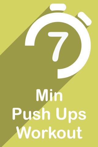7 Min Push Ups Workout