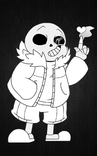 Coloring book for Undertale 5.0 screenshots 1