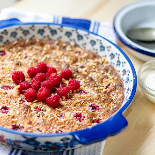 Clafoutis with Raspberries & Strawberries Recipe