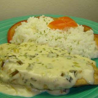 Tarragon Chicken With Vermouth Cream Sauce