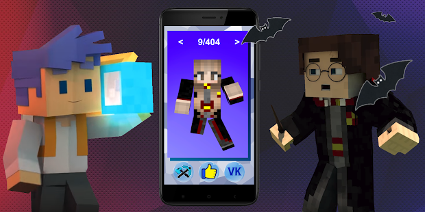 Skins Harry Potter For Minecraft Aplicaciones En Google Play - Skin para minecraft pe hermione