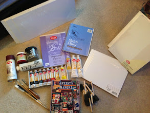 Photo: $79.  Artist Supplies Lot. http://washingtondc.craigslist.org/doc/art/3564433322.html