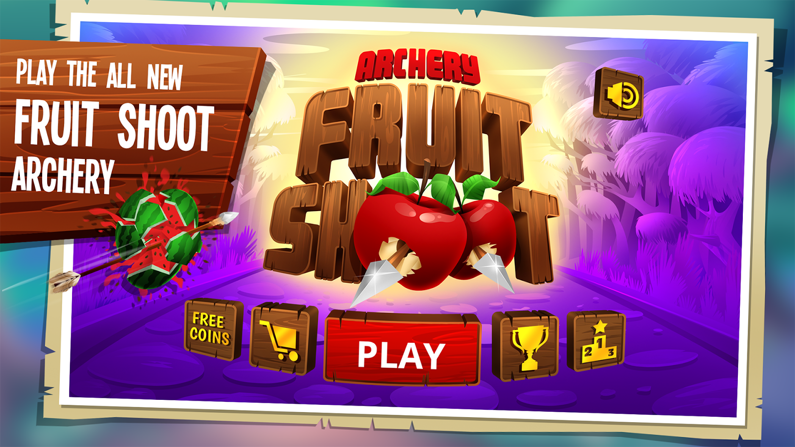Archery - Fruit shoot- screenshot