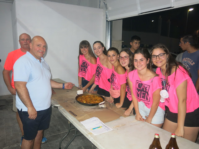 Concurso de paellas en Turís