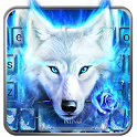 Surreal Wolf Keyboard Theme icon