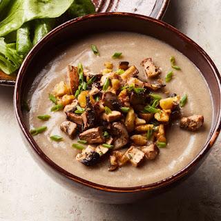 Creamy Mushroom Soup.