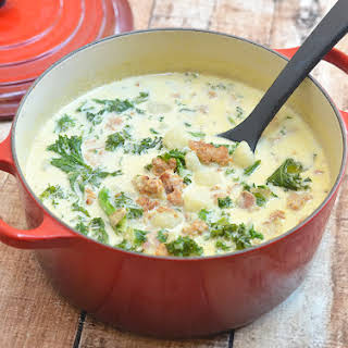 Zuppa Toscana (Olive Garden's Tuscan Soup).