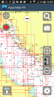 Aqua Map Croatia GPS - náhled