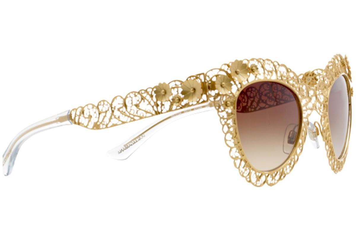 675f587fab5 Buy Dolce e Gabbana Filigrana DG2134 C47 02 13 Sunglasses