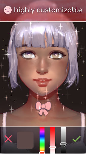 Live Portrait Maker: Girls 2.32 screenshots 3