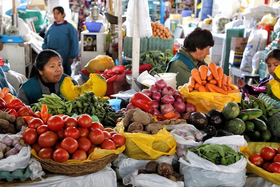 Cuzco, San Pedro Market