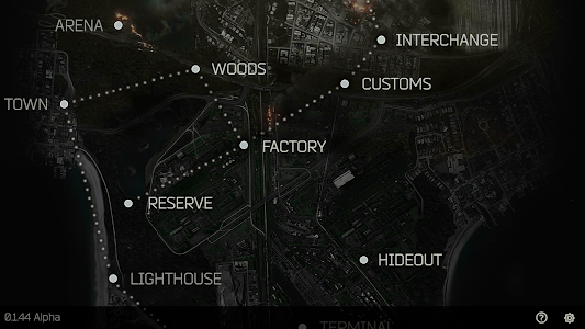 Tarkov Maps Guide 0.1.50