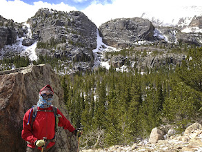 Photo: Glacier Gorge Trail in May 2013