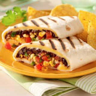 Southwest Bean Wraps.