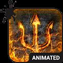 Burning Animated Keyboard icon