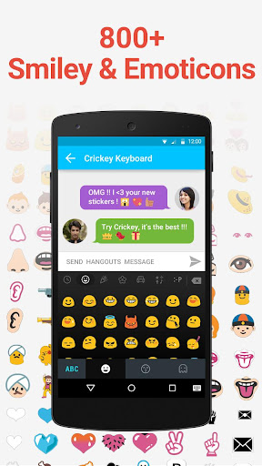 Crickey Keyboard Free Stickers