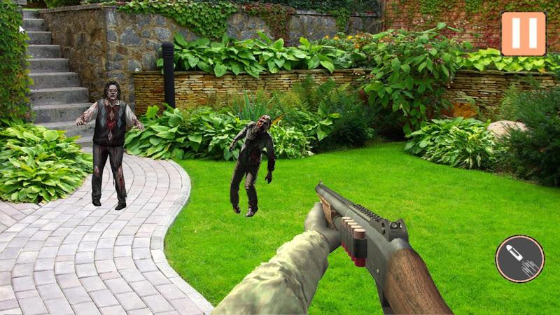 Скриншот AR Zombie Shooter Apocalypse Бесплатно