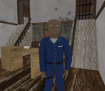 Evil Officer - Horror House Escape apkpoly screenshots 4
