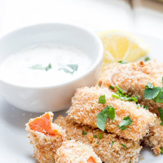 Baked Salmon Fish Sticks