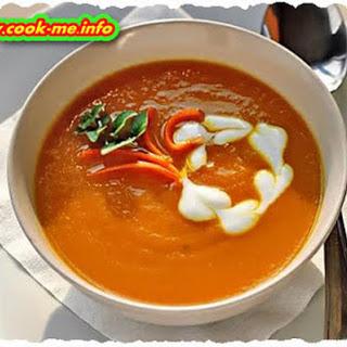 Carrot Puree Soup Recipe