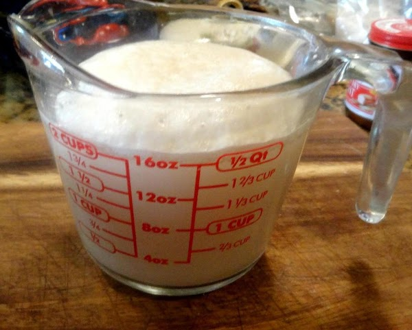 Proofing The Yeast:  Measure 1 1/3 cup warm water, 110, degrees.  Add...