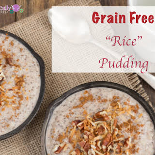 Low Calorie Rice Pudding Recipes.