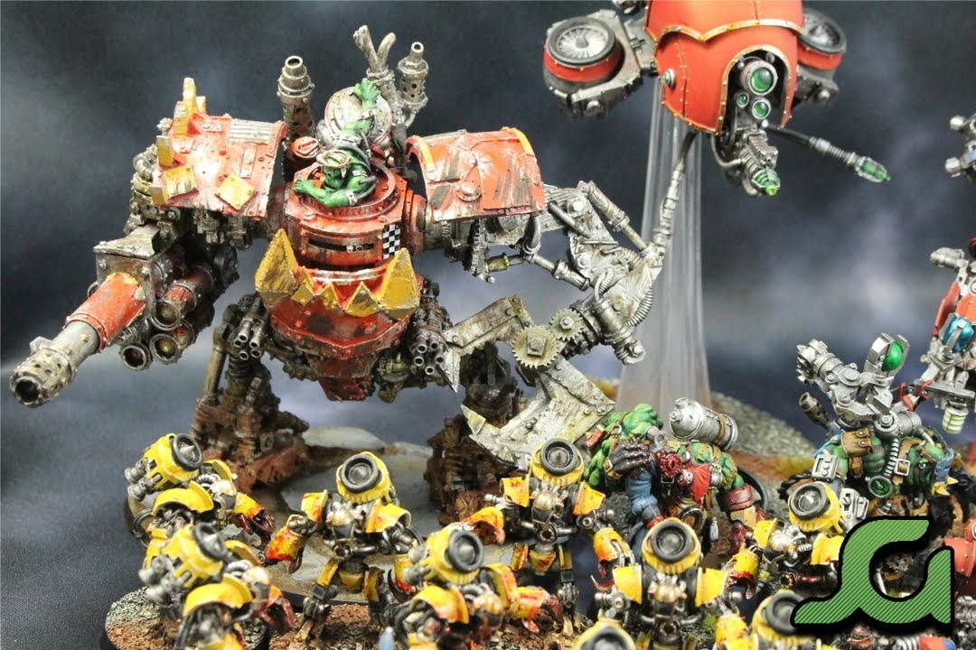 Orks and Mechanicum