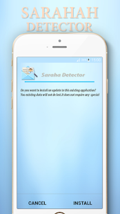 Saraha Detector - find out message owner - náhled