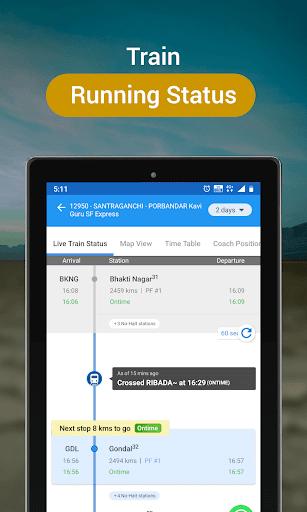 RailYatri - Live Train Status, PNR Status, Tickets screenshot 11